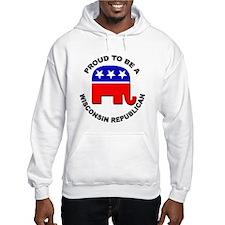 Proud Wisconsin Republican Hoodie