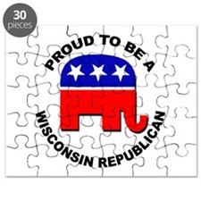 Proud Wisconsin Republican Puzzle