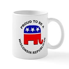 Proud Wisconsin Republican Mug