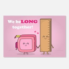 We belong together, Cute Couple in Love Postcards