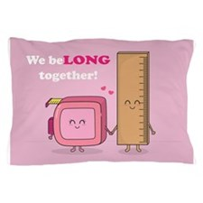 We belong together, Cute Couple in Love Pillow Cas