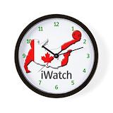 Canada soccer Wall Clocks