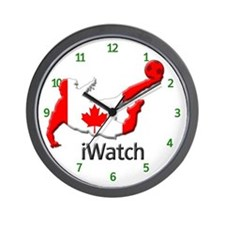 iWatch Canada Wall Clock