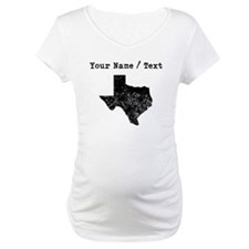Custom Distressed Texas Silhouette Shirt