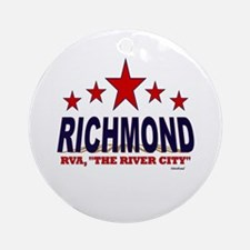 Richmond, RVA The River City Ornament (Round)