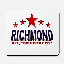 Richmond, RVA The River City Mousepad