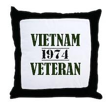 VIETNAM VETERAN 74 Throw Pillow