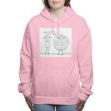 Ewe's not fat...ewe's fl Women's Hooded Sweatshirt