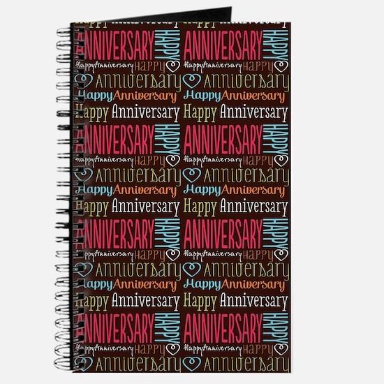 Retro Anniversary Pattern Journal