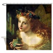 Middle Ages Beauty Shower Curtain
