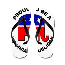 Proud Virginia Republican Flip Flops