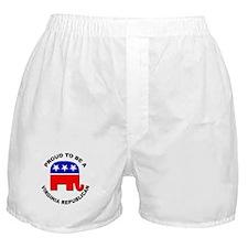 Proud Virginia Republican Boxer Shorts
