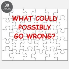 what could possiby go wrong? Puzzle
