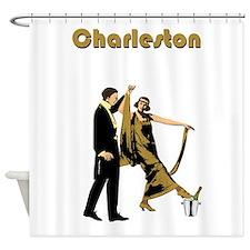 Charleston Flapper Shower Curtain