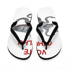 cthulhu Flip Flops