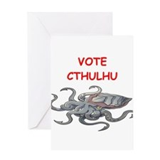 cthulhu Greeting Cards