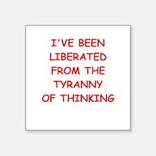liberated Sticker