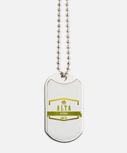 Alta Ski Resort Utah Dog Tags