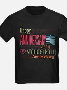 Modern Stylish Anniversary T