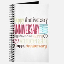 Modern Stylish Anniversary Journal