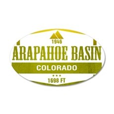 Arapahoe Basin Ski Resort Colorado Wall Decal