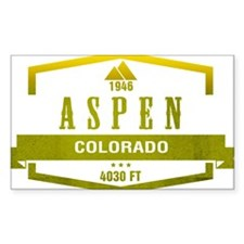 Aspen Ski Resort Colorado Decal
