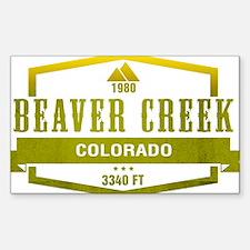 Beaver Creek Ski Resort Colorado Decal