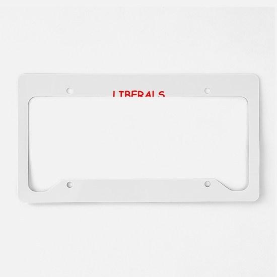 liberals License Plate Holder