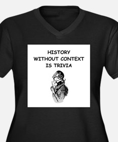 history Plus Size T-Shirt