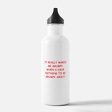 grumpy Water Bottle