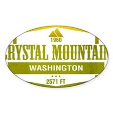 Crystal Mountain Ski Resort Washington Decal
