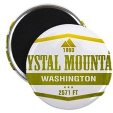 Crystal Mountain Ski Resort Washington Magnets