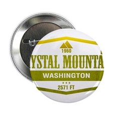 "Crystal Mountain Ski Resort Washington 2.25"" Butto"