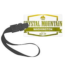 Crystal Mountain Ski Resort Washington Luggage Tag