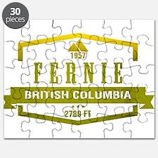 Fernie Ski Resort British Columbia Puzzle