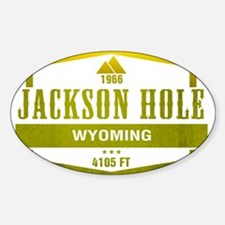 Jackson Hole Ski Resort Wyoming Decal