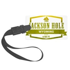 Jackson Hole Ski Resort Wyoming Luggage Tag