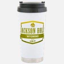 Jackson Hole Ski Resort Wyoming Travel Mug