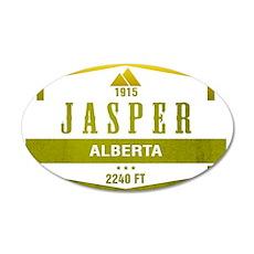 Jasper Ski Resort Alberta Wall Decal