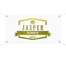 Jasper Ski Resort Alberta Banner