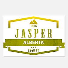 Jasper Ski Resort Alberta Postcards (Package of 8)
