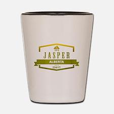 Jasper Ski Resort Alberta Shot Glass