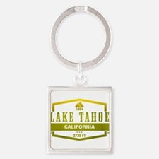 Lake Tahoe Ski Resort California Keychains