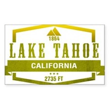 Lake Tahoe Ski Resort California Decal