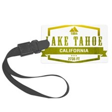 Lake Tahoe Ski Resort California Luggage Tag