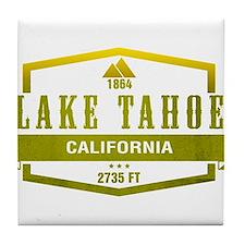Lake Tahoe Ski Resort California Tile Coaster