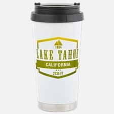 Lake Tahoe Ski Resort California Travel Mug