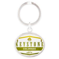 Keystone Ski Resort Colorado Keychains