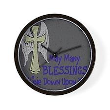 Blessings ~  Wall Clock