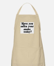 snake today BBQ Apron